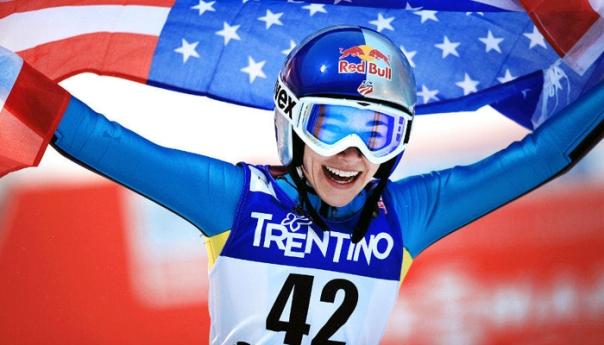 Sarah Hendrickson Sochi Ski Jumper - The Rookie Dad