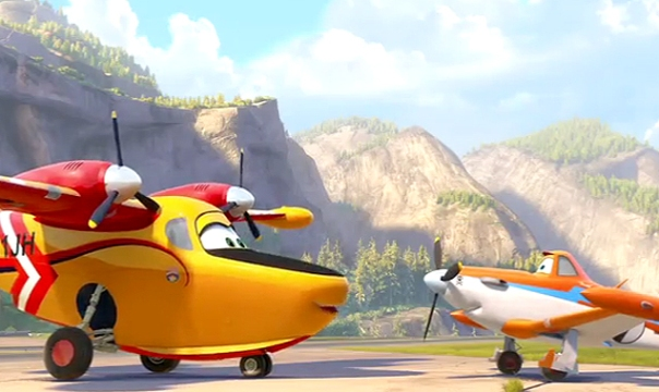 Disney's Planes Fire and Rescue - The Rookie Dad